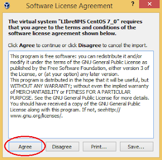 Accept the Software Agreement
