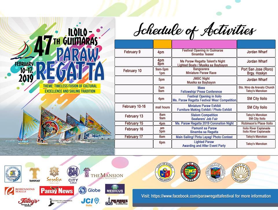 2019 iloilo paraw regatta festival