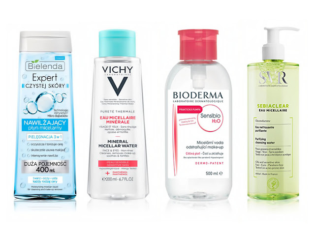 Мицеллярная вода - популярный продукт для снятия макияжа