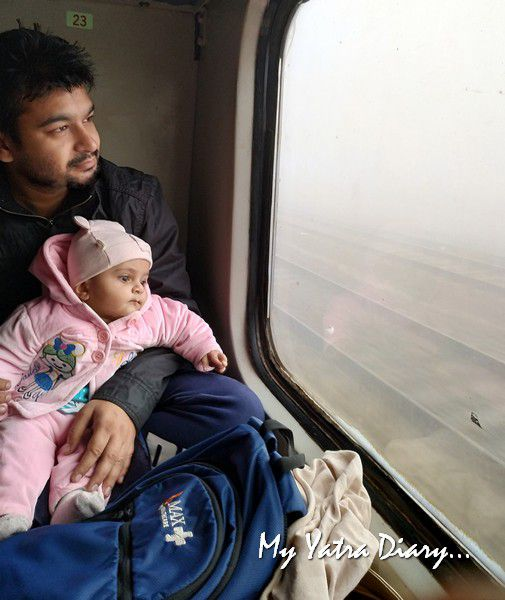 Sweet strangers we meet in the train - travelling in the Indian railways