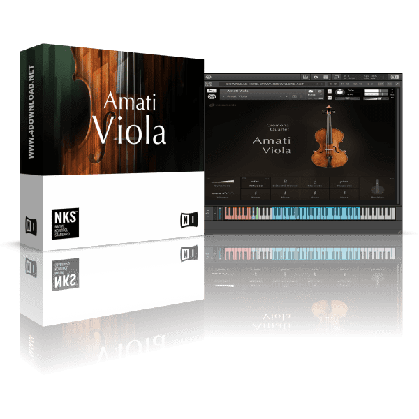 Native Instruments Amati Viola v1.0.0 KONTAKT Library