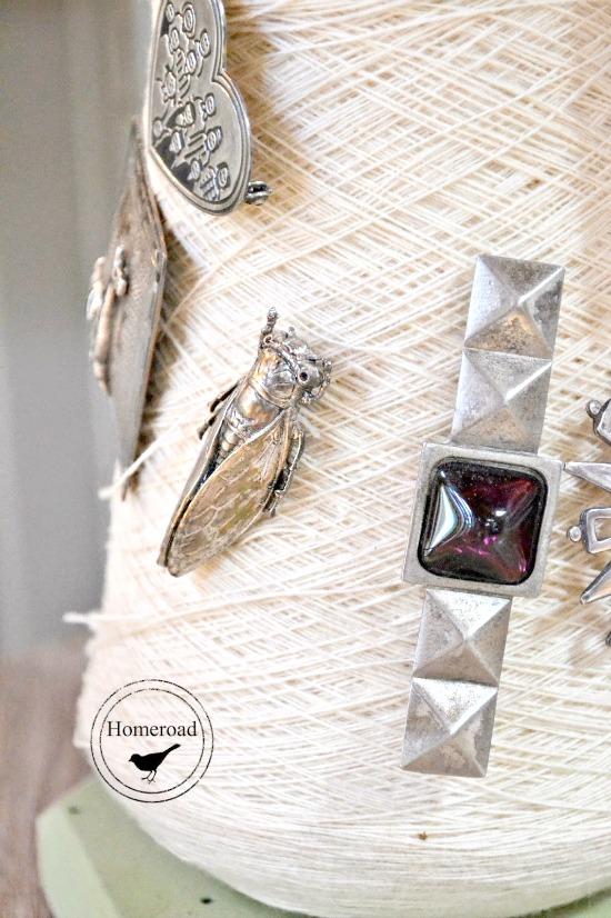 Brooch Display and Jewelry Organizer