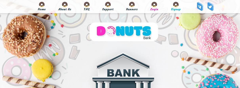 Мошеннический сайт donutsbank.online – Отзывы, развод, платит или лохотрон? Информация