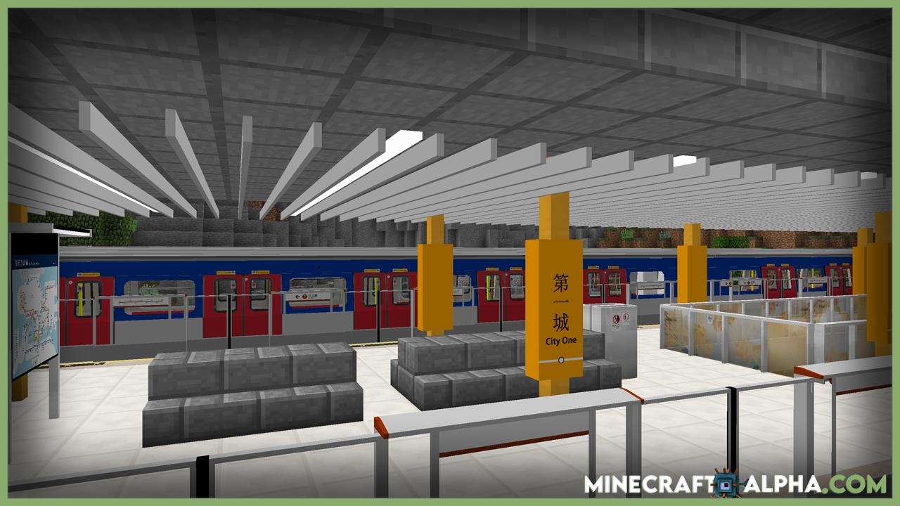Transit Railway Mod 1.18/1.17.1 (Running Subway)