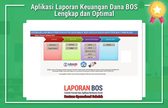 Aplikasi Laporan Keuangan Dana BOS Lengkap dan Optimal