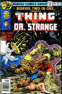 Marvel Two-In-One #49, The Thing and Dr Strange