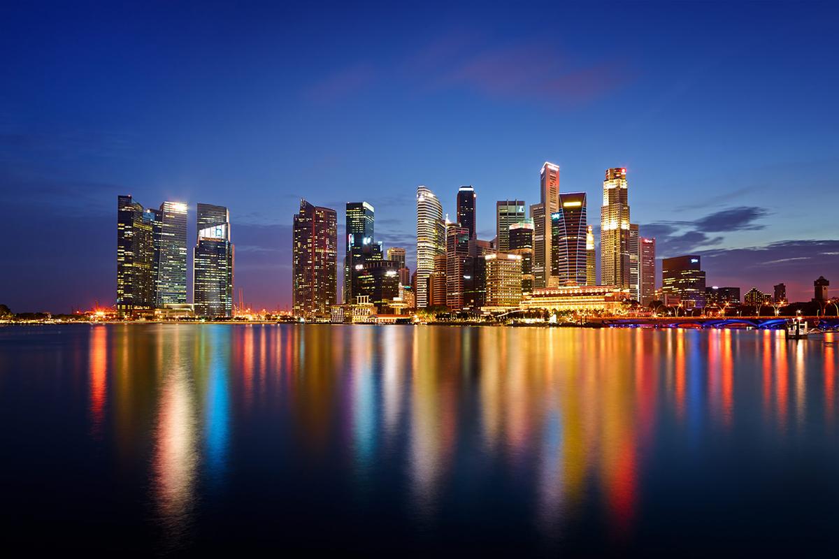 Fotografi Landscape City Scape Singapura