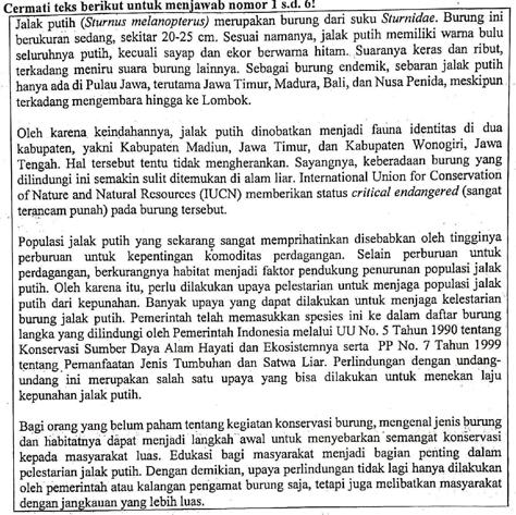 Soal Un Tahun Pelajaran 2018 2019 Bahasa Indonesia Sma Dan Kunci Jawaban Nomor 3 Menentukan Jawaban Yang Tepat Sesuai Isi Bacaan Zuhri Indonesia
