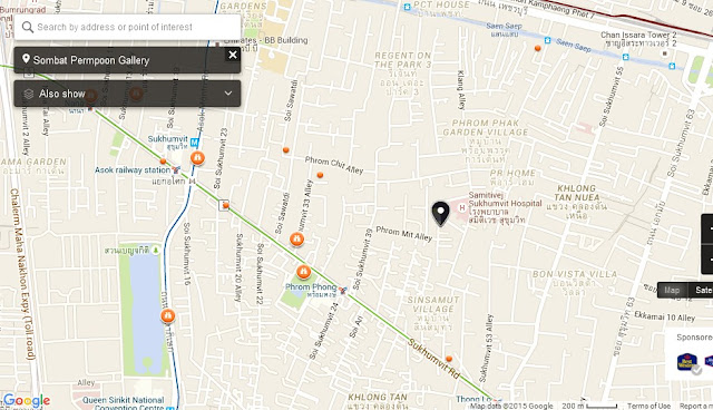 Sombat Permpoon Gallery Bangkok Map,Map of Sombat Permpoon Gallery Bangkok,Tourist Attractions in Bangkok Thailand,Things to do in Bangkok Thailand,Sombat Permpoon Gallery Bangkok accommodation destinations attractions hotels map reviews photos pictures