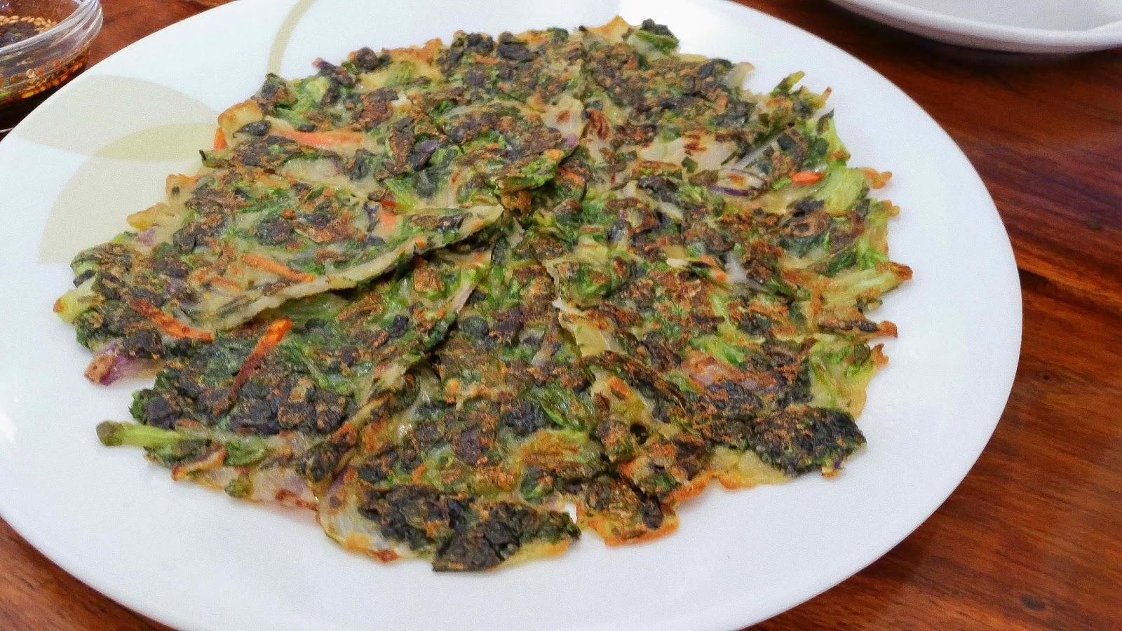 Sangcho Jeon Lettuce Pancake