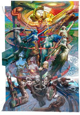 Piramidismo Cromatico Convocatoria Mural Pintura Arte