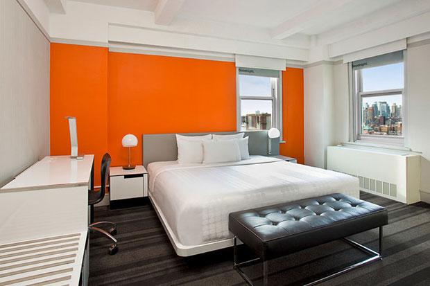 Hoteles en Nueva York céntricos hotel row