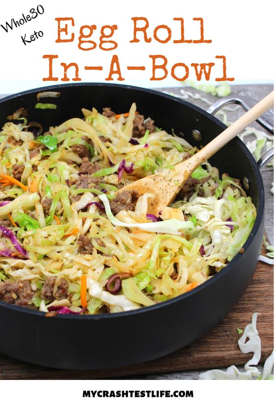 Egg Roll In-A-Bowl