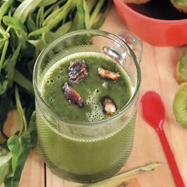 Smoothie Sayur Kangkung Mix Buah Kiwi
