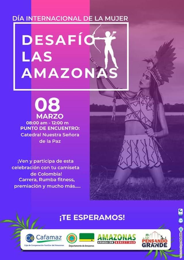 Desafío las Amazonas