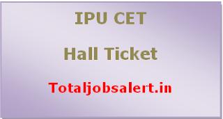 IPU CET Hall Ticket