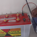 Inverter connect with battery backup at your home