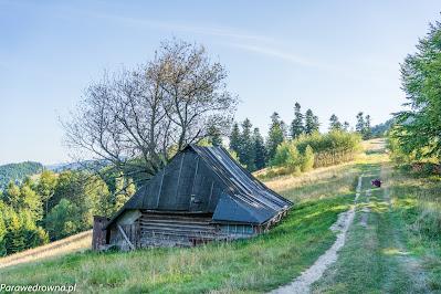 Kurna chata p. Ludwiki Nowakowej na szlaku czerwonym