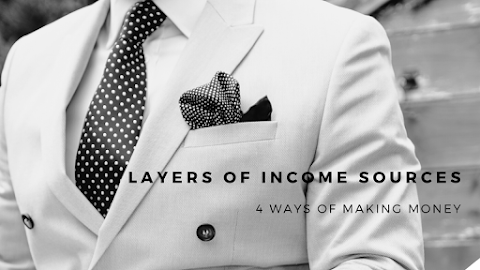 Layer of Income Sources             ( 4 ways to make Money)