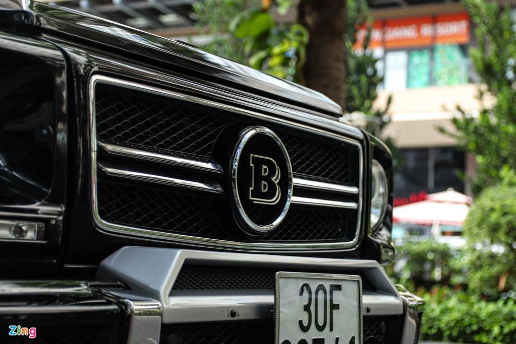 Cận cảnh siêu SUV Brabus B63-620 giá 13 tỷ đồng tại TP.HCM