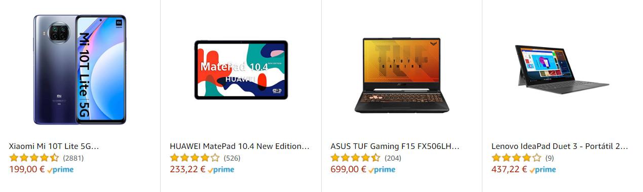 chollos-amazon-ofertas-en-dos-moviles-cuatro-portatiles-un-2-en-1-dos-tvs-un-tablet