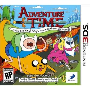Rom Adventure Time Hey Ice King! Why'd you steal our garbage?! 3DS