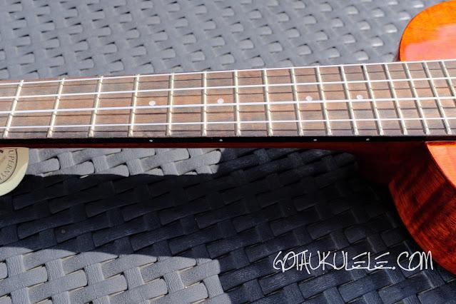 Harley Benton Kahuna CLU-42C ukulele neck