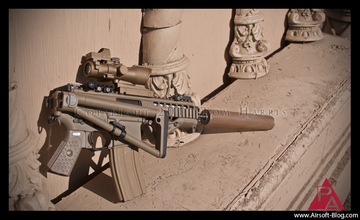WE PDW GBBR, Airsoft Gas Blowback Rifle, Airsoft CQB Gun, Pyramyd Airsoft Blog, Tom Harris Media