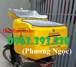 Thùng chở rác y tế nguy hại sau xe máy. thùng vận chuyển chất thải lây nhiễm 0e68a8364d0baf55f61a%2B%25281%2529