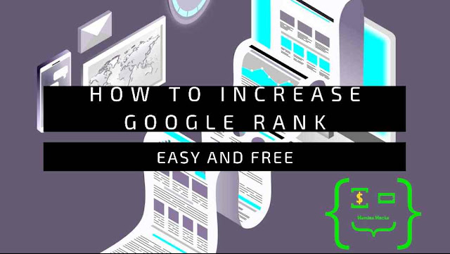 Increase Google Ranking For Free