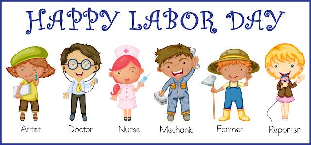 Great Labor Day Clip Art