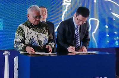 Penandatanganan Kerja Sama Huawei Indonesia dan Kementrian Ketenagakerjaan Indonesia