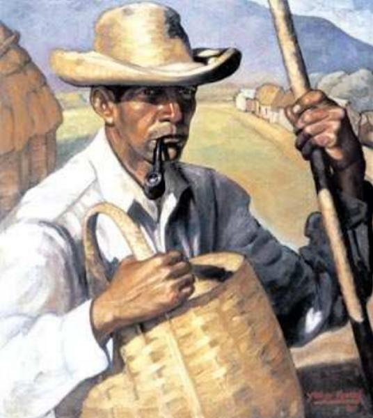 Campesino cibaeño, Yoryi Morel, 1941