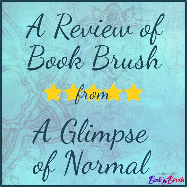 Do you need professional looking graphics that are easy to create?  Check out my review of Book Brush on my blog A Glimpse of Normal
