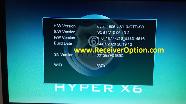 HYPER X6 1506TV 512 4M NEW SOFTWARE WITH FACEBOOK LIVE OPTION