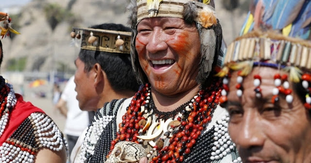 Líder Tribo Shipibo-1 - Amazôni Peruana