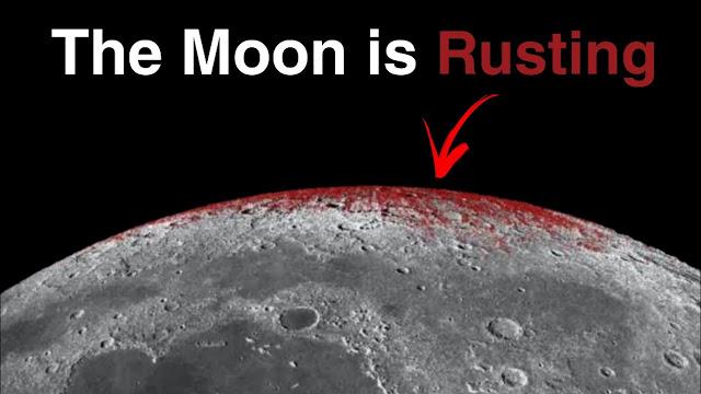 Bulan Berkarat, Ilmuwan NASA: Ada Tiga Kemungkinan Penyebabnya