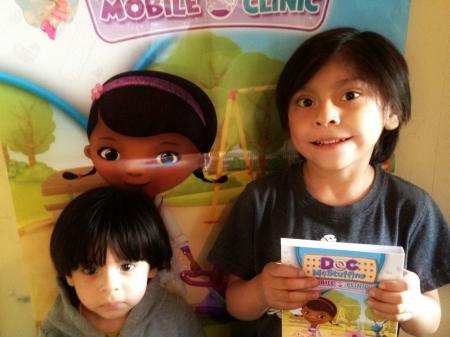 De pelicula con Doc McStuffins Mobile Clinic
