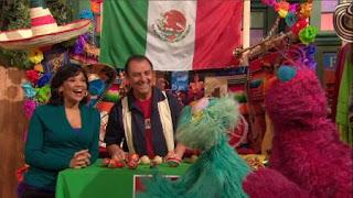 Telly, Rosita, Luis and Maria, Sesame Street Episode 4404 Latino Festival season 44