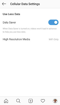 data saver instagram untuk hemat kuota