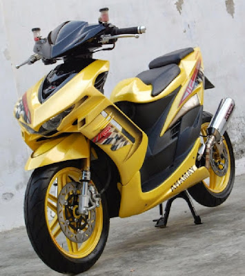 Top modifikasi mio soul gt 125
