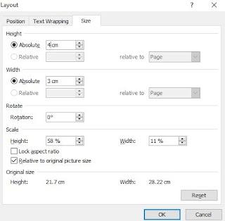 Mengubah Ukuran Pas Foto Menggunakan Ms. Word