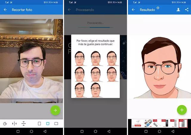 كيفية تحويل الصورة إلى رسم باستخدام تطبيق Photo Lab