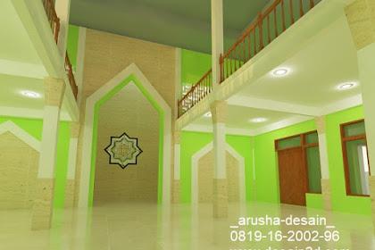 Jasa Desain Interior Masjid Online Murah dan Cepat