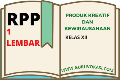 download rpp 1 lembar pkk kelas xii
