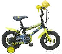 Sepeda Anak WIMCYCLE BATMAN 12 Inci
