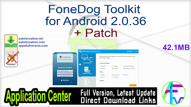 FoneDog Toolkit for Android 2.0.36 + Patch
