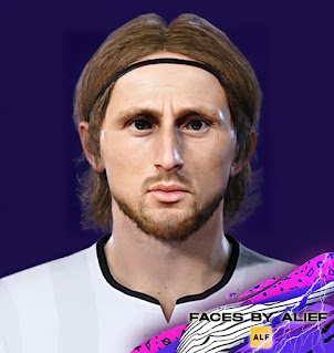 PES 2021 Faces Luka Modric by Alief
