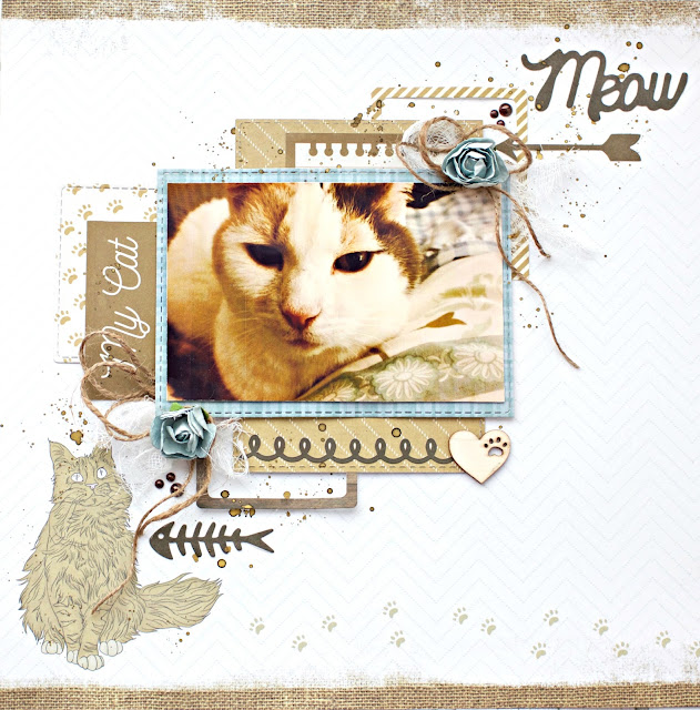 Kaisercraft Pawfect Layout by Alicia McNamara