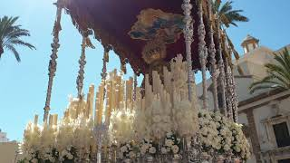 María Santísima de la Caridad por la Plaza de la Catedral. Semana Santa Cádiz 2019